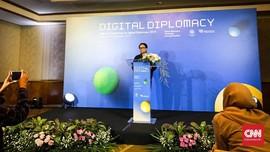 Kemlu Harap Raksasa Digital Bantu Sebarkan Perdamaian