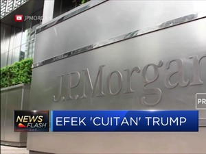 JP Morgan Buat Indeks Ukur Dampak Cuitan Trump