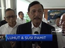 Menteri Susi dan Menko Luhut Pamit