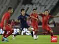 Indonesia Dibantai Thailand 0-3 di Stadion GBK