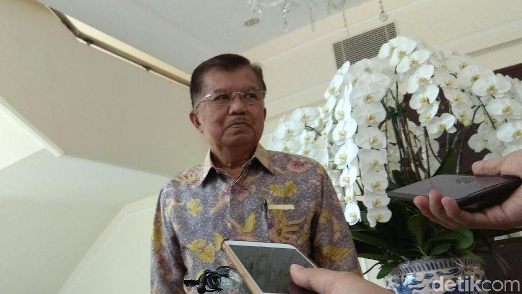 Muncul Penolakan Firli Dkk Pimpin KPK, JK: Sesuai Konstitusi Harus Diterima