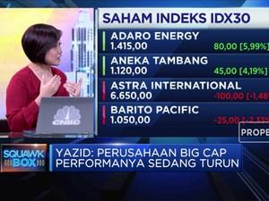 Ditinggal Investor Asing, Indeks IDX 30 Tertekan
