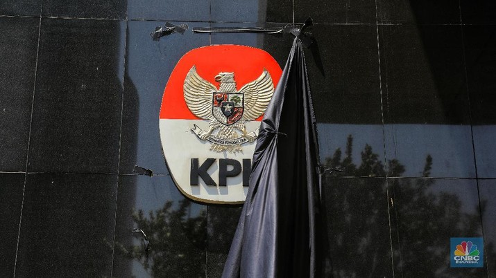 Pimpinan Komisi Pemberantasan Korupsi menggelar konferensi pers khusus menyikapi perkembangan terkini perihal revisi UU KPK.