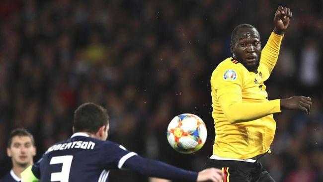 Lukaku Tak Pernah Mimpi Cetak 50 Gol untuk Belgia