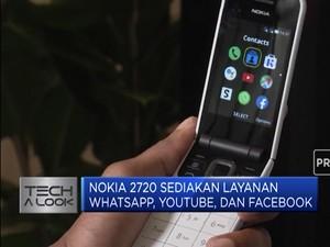 Nokia Kembali Nostalgia dengan Rilis Ponsel Lipat
