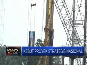 Pemerintah Rampungkan Proyek Strategis Senilai Rp 87 T