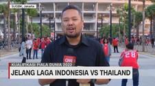 VIDEO: Antusiasme Suporter Laga Indonesia Vs Thailand di GBK