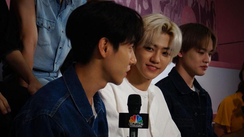 NCT Dream boyband besutan SM Entertaiment yang debut pada 25 Agustus 2016. (CNBC Indonesia/Fetty Diana)