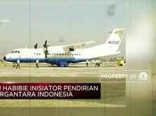 BJ Habibie Inisiator Pendirian Industri Dirgantara Indonesia