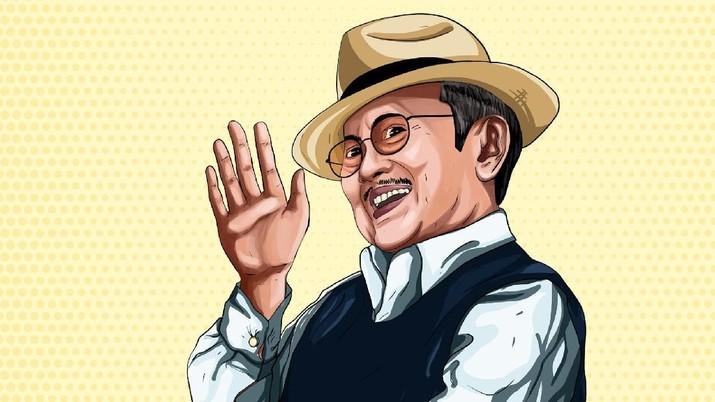 Wafatnya Presiden ke-3 Indonesia, BJ Habibie meninggalkan sejuta cerita.