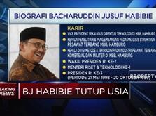 Ini Jejak Karir BJ Habibie, Sang Presiden RI Ke-3