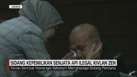 VIDEO: Kivlan Zen Menangis Sebelum Menghadapi Sidang Perdana