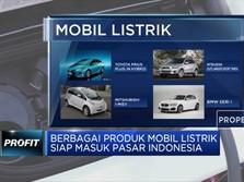 Mobil Listrik Mulai Masuk Indonesia