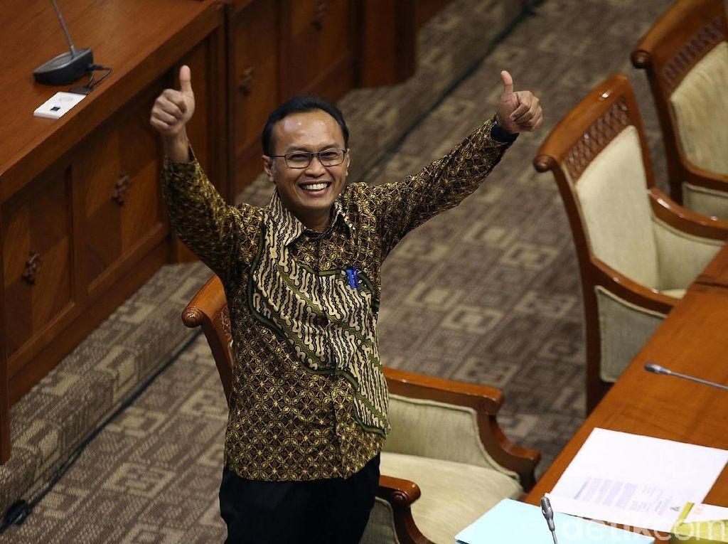 Calon Pimpinan (Capim) KPK Sigit Danang Joyo menjalani uji kepatutan dan kelayakan di Komisi III DPR, Senayan, Jakarta, Rabu (11/9/2019).