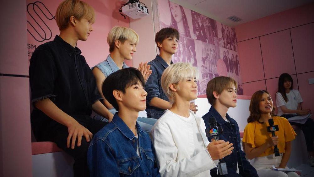 NCT Dream mendatangi Indonesia dalam acara Konser Korean Wave 2019 di Econvention Ancol.