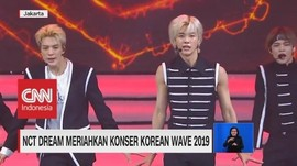 VIDEO: NCT Dream Meriahkan Konser Korean Wave 2019