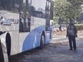 Bajaj Tertabrak Bus Transjakarta, Satu Orang Tewas