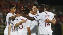 Meme Lucu Ronaldo Cetak Quattrick di Kualifikasi Piala Eropa
