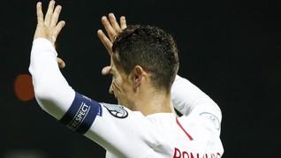 FOTO: Ronaldo Kejar Rekor Gol Ali Daei