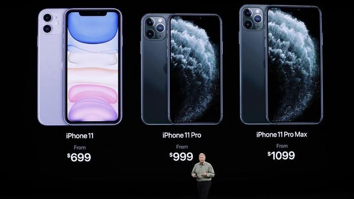 Apple resmi mengenalkan tiga iPhone barunya pada tanggal 10 September 2018. Ketiga iPhone baru tersebut adalah iPhone 11, iPhone 11 Pro, dan iPhone 11 Pro Max.