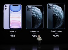iPhone 11 & iPhone 11 Pro Rilis, Nilai Apple Capai Rp14.140 T