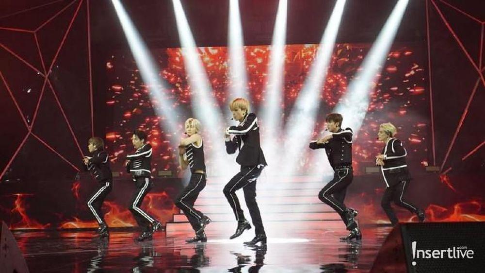 NCT Dream mendatangi Indonesia dalam acara Konser Korean Wave 2019 di Econvention Ancol.( Ist/Insertlive)