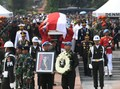 Jokowi di Makam Habibie: Selamat Jalan Mr Crack Sang Pionir