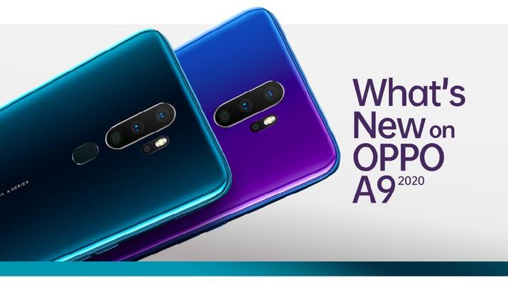 Oppo akan segera menghadirkan ponsel OPPO A9 2020 di Indonesia. indikasinya melalui gelaran blind pre-order sejak 10-17 September 2019.