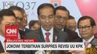 VIDEO: Jokowi Terbitkan Surpres Revisi UU KPK