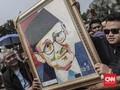 FOTO: Upacara Militer untuk BJ Habibie di TMP Kalibata