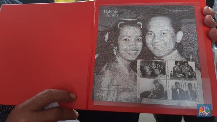 Kisah Habibie & Ainun Diabadikan Dalam 8 Seri Perangko