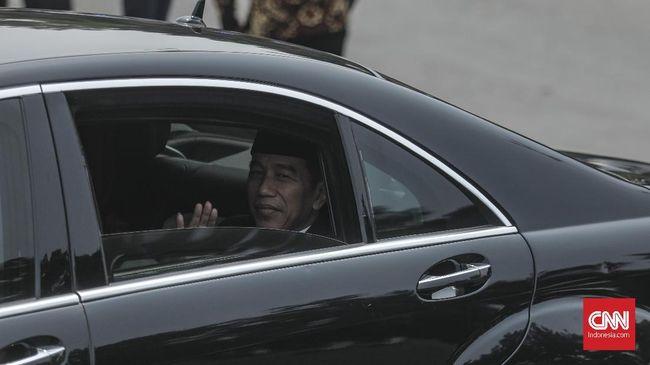 Jokowi-JK Saksikan Pelantikan DPR RI 2019-2024