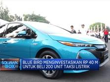 Blue Bird Berencana Tambah 200 Unit Taksi Listrik
