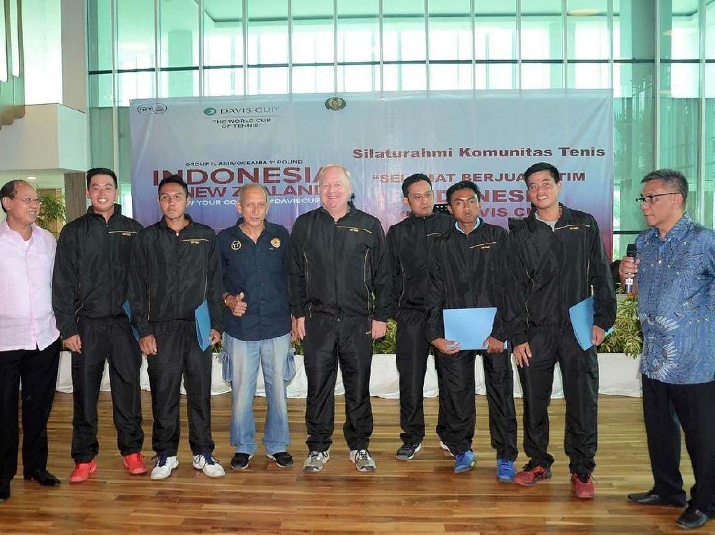 Kegiatan ini untuk memberikan dukungan dalam rangka pertandingan group II zona Asia/Oceania Piala DavisCup 2019, yang akan berlangsung 14-15 September di GBK Tenis Senayan.