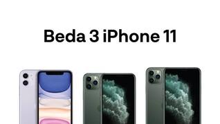 INFOGRAFIS: Beda 3 iPhone 11