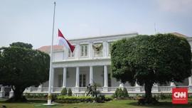 Negara Berkabung, Istana Kibarkan Bendera Setengah Tiang