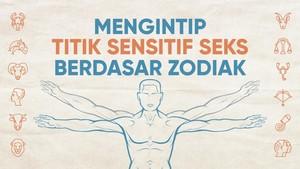 INFOGRAFIS: Meraba Titik Sensitif Seks si Dia Sesuai Zodiak