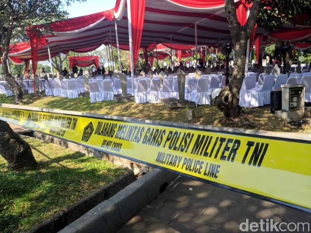 BJ Habibie akan menempati slot nomor 120 di TMP Kalibata. Presiden Joko Widodo (Jokowi) akan memimpin proses pemakaman jenazah tersebut. (Foto: Jefrie/detikcom)