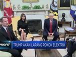 Trump Tuding Rokok Elektrik Jadi Masalah Baru AS