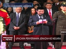 Jenazah BJ Habibie Dilepas Secara Kenegaraan