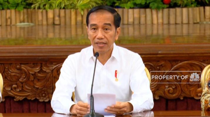 Presiden Joko Widodo (Jokowi) memberikan sinyal soal menteri kabinet Jilid II melalui postingan di akun Instagram pribadinya