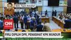 VIDEO: Firli Dipilih DPR, Penasihat KPK Mundur