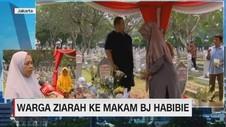 VIDEO: Warga Berziarah ke Makam B.J. Habibie