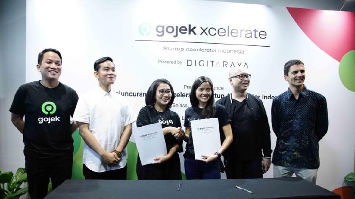 Akselerasi Startup Indonesia, Gibran Dukung Gojek Xcelerate