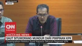 VIDEO: Saut Situmorang Mundur Dari Pimpinan KPK