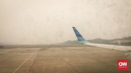 BMKG Aceh Sebut Kabut Asap Mulai Ganggu Penerbangan