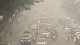 Karhutla Meluas, Sebagian Wilayah Sumut Diselimuti Kabut Asap