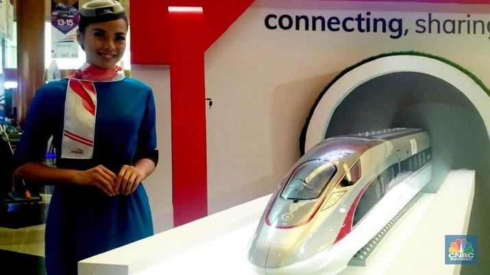 Nih Penampakan Model Kereta Cepat China Terbaru