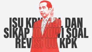 INFOGRAFIS: Isu Krusial dan Sikap Jokowi soal Revisi UU KPK