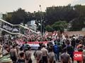 Jurnalis Ikut Kena Pukul dan Cakar Pelaku Rusuh Demo KPK